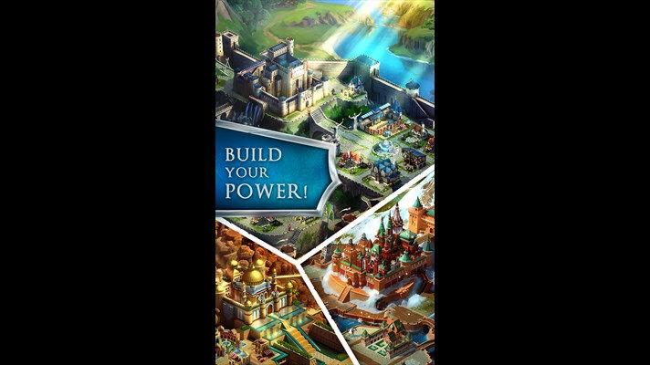 بازی استراتژیک زیبای March of Empires برای ویندوز فون