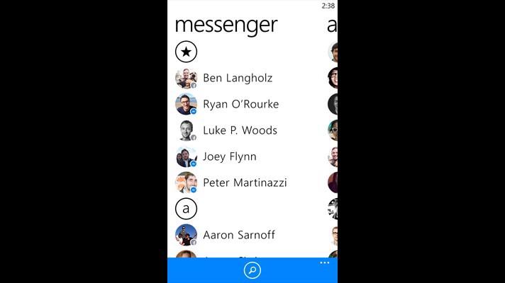 دانلود مسنجر رسمی فیسبوک با آخرین آپدیت برای ویندوزفون