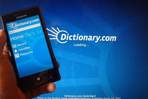 دانلود برنامه قدرتمند دیکشنری برای ویندوز فون