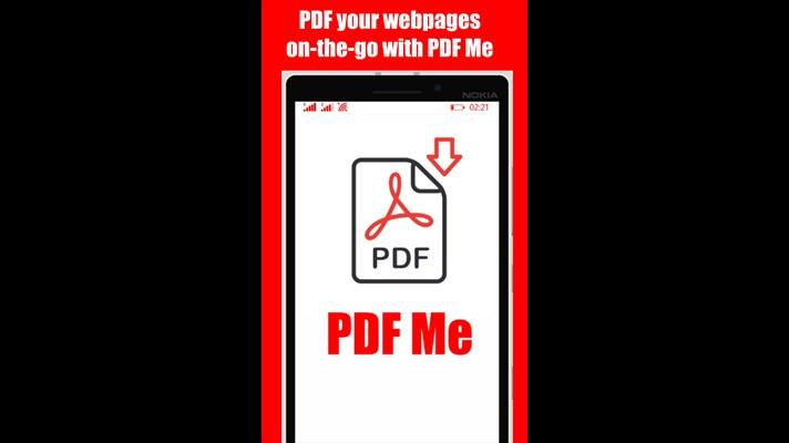 با برنامه ویندوز فون PDF Me صفحات وب خود را ذخیره کنید