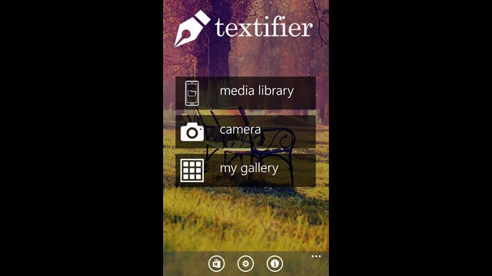 افزون متن به عکس خود با برنامه Textifier برای ویندوز فون