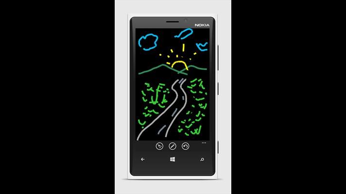 نقاشی کشیدن با برنامه ویندوز فون iDraw