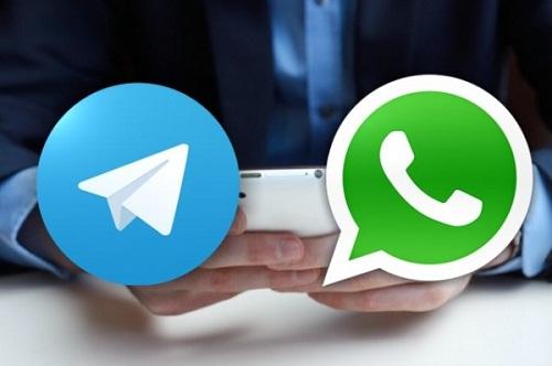 بررسی تخصصی نرم افزار واتس آپ با تلگرام !