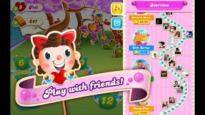بازی آب نبات Candy Crush Soda Saga برای ویندوز فون