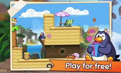 بازی پنگوئن های رقاص Hopping Penguin برای ویندوزفون