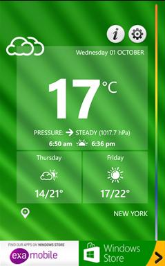 تشخیص آب و هوای پیرامون خود با Weather Thermometer برای ویندوزفون