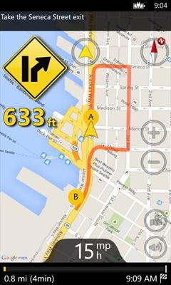 دانلود مسیریاب صوتی GPS Voice Navigation برای ویندوزفون