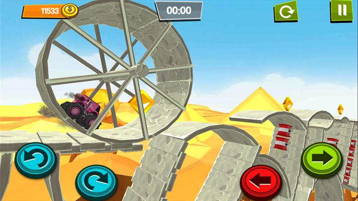 دانلود بازی کامیون افسارگسیخته Monster Trucks Unleashed برای ویندوزفون