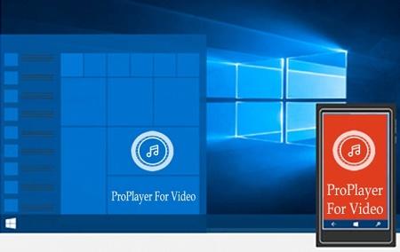 دانلود پلیر فیلم (ProPlayer For Video (Preview برای ویندوزفون