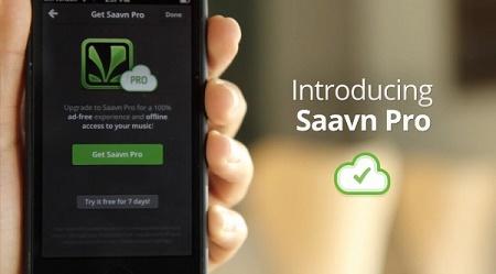 دانلود موسیقی پلیر و رادیو Saavn Music & Radio برای ویندوزفون