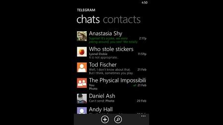 آپدیت جدید تلگرام برای ویندوز فون