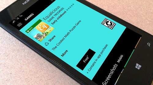 equalicious ، یک بازی پازل فکری جدید برای ویندوز فون