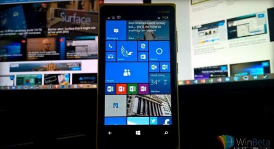 بیلد جدید ویندوز ۱۰ windows موبایل منتشر شد ، کامل ترین آپدیت مایکروسافت