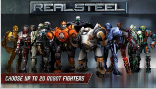 دانلود بازی RealSteelWRB ربات ها برای ویندوز فون