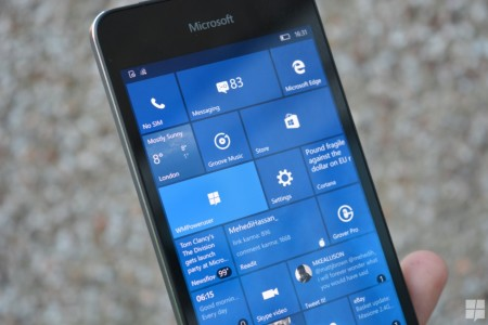 مایکروسافت بیلد جدید ویندوز ۱۰ موبایل را برای اینسایدرها منتشر کرد!