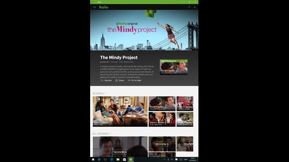 نرم افزار Hulu بصورت یونیورسال منتشر شد.