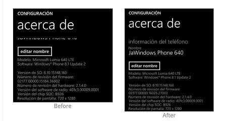 انتشار آپدیت نرم افزاری جدید برای لومیا ۶۴۰ و لومیا ۶۴۰ XL