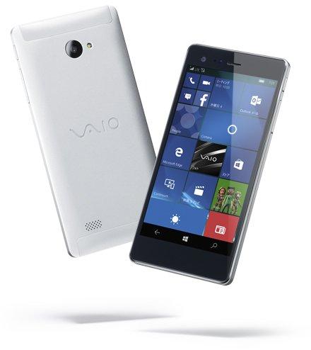 Vaio از اولین گوشی خود با ویندوز موبایل ۱۰ رونمایی کرد