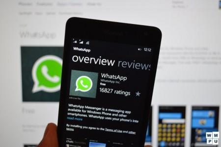 قطع پشتیبانی WhatsApp از ویندوزفون ۷