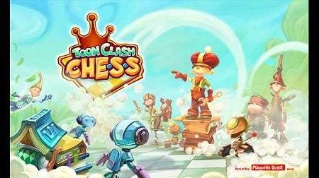 دانلود بازی متفاوت شطرنج Toon Clash CHESS ویندوز فون