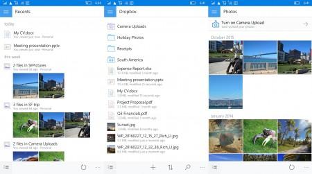 Dropbox ویندوز ۱۰ موبایل آپدیت شد