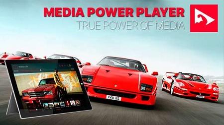 اپلیکیشن قدرتمند پخش ویدئو Media Power Player ویندوز فون