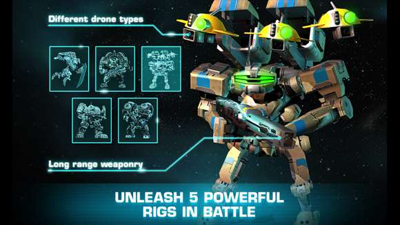 مبارزات ربات ها را در بازی Dawn of Steel تجربه کنید