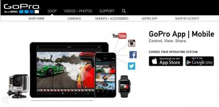 شرکت GoPro دیگر از ویندوزفون پشتیبانی نمی کند