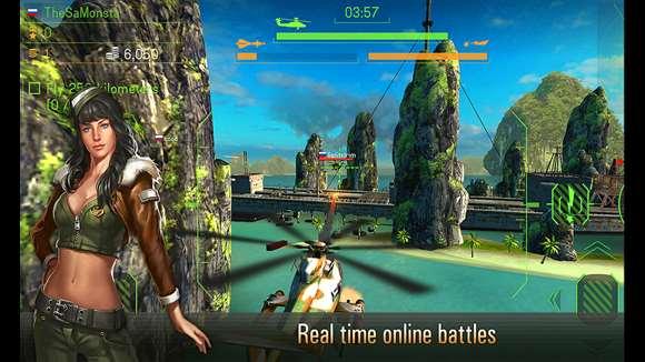 تسخیر آسمان در بازی Battle of Helicopters