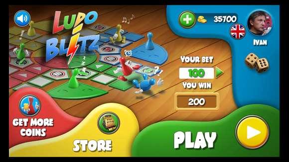 بازی منچ را با LUDO Blitz! تجربه کنید