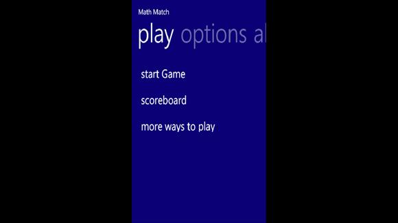 بازی و ریاضی با Math Match