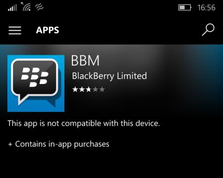 BBM را به یاد دارید؟ دیگر برای ویندوزفون در دسترس نیست.