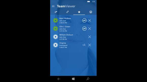 نرم افزار TeamViewer برای ویندوز فون منتشر شد