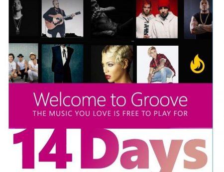 نرم افزار Groove برای برخی کاربران از سوی مایکروسافت رایگان شد